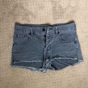 Brandy Melville grey shorts